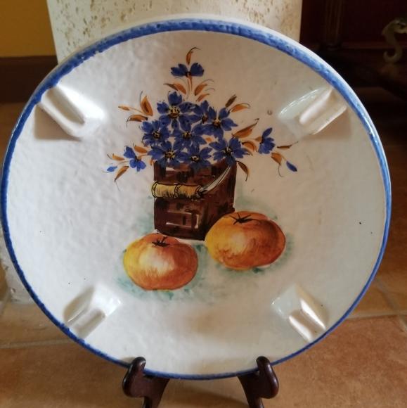 Decorative handpainted plate
